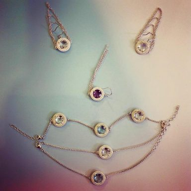 Christelle Chamberland Jewellery visual identity design by Vanja Karas, Magenta Grove London